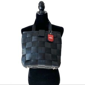 Harvey's The Orginal Seatbelt Bag Tote USA Black